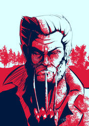 Wolverine blues by StereoiD