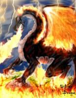 Black Dragon by ShadeHuntress