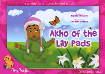 Akho of the Lily Pads Book Cover by Stardust-Phantom