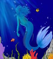 The Mermaid by gigglesalot