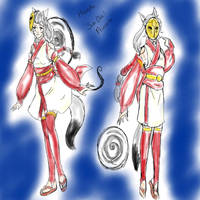 Sun Dial Princess by gigglesalot