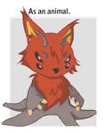 Kinkei MEME-as an animal by ruth2m