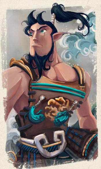 Susanoo, dios del MAR y las tempestades by ruth2m