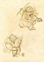 fanART de BRIGADA - IVRO (sketch) by ruth2m