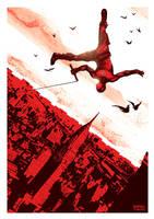 Daredevil poster design by rafaelpimentel