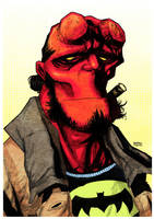 Hellboy fan art by rafaelpimentel