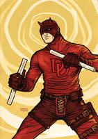 Daredevil noir by rafaelpimentel