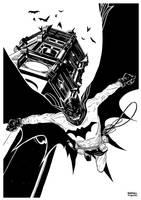 Bats Bats Bats - black and white by rafaelpimentel