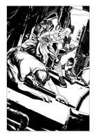 Nightwing sample page - 01 by rafaelpimentel