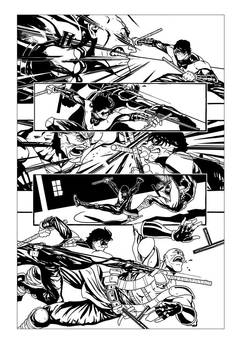 Nightwing sample page - 02 by rafaelpimentel