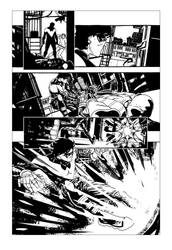Nightwing sample page - 03 by rafaelpimentel