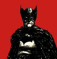 Batman warmup sketch by rafaelpimentel