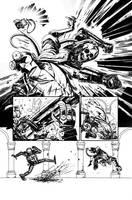 Hellboy sample page 04 by rafaelpimentel