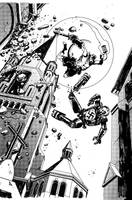 Hellboy sample page 06 by rafaelpimentel