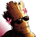 Summertime Groot sketch by rafaelpimentel