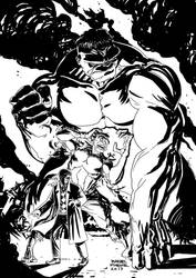 That Thor's friend by rafaelpimentel