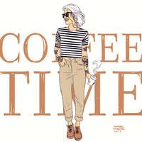 Coffee break sketch 2 by rafaelpimentel