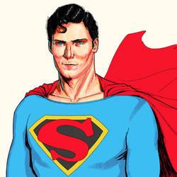 That superman dude by rafaelpimentel