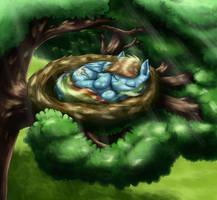 Rainbow Nest by otakuap