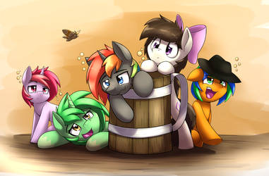 Drunk Ponies Finished by otakuap