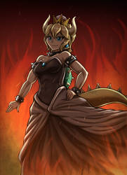 Bowsette by otakuap