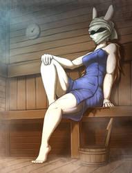 Sauna by otakuap