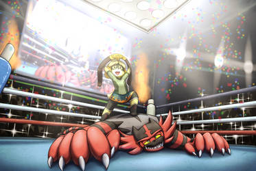 Wrestling by otakuap