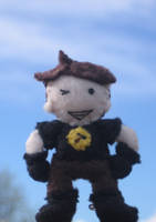 Captain Hammer Plush by The-Paper-Lady-42