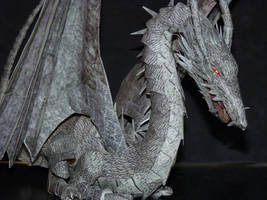 Papercraft Dragon by zandere123