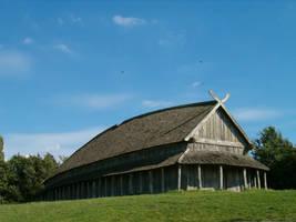 Viking Longhouse by kanyiko