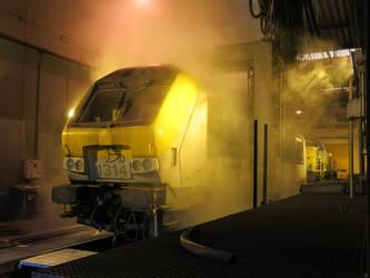 Antwerp N 050316 clean your loco by kanyiko
