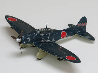 Aichi D3A2 Navy Type 99 Carrier Bomber 35-209 by kanyiko