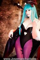 Morrigan cosplay from Darkstalkers by MorganaCosplay