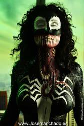 Venom Bodypaint by MorganaCosplay