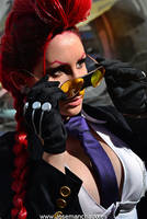 Crimson Viper - Street Fighter IV by MorganaCosplay