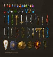warlock icon set by brainchilds