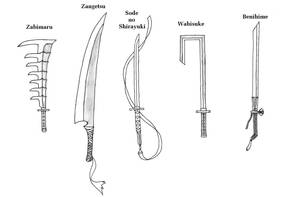 Swords of Bleach 1 by Bladedog