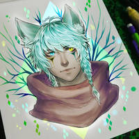 Wolfy by Elwenz