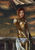 Jeanne d'Arc by Ifarisa