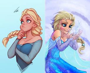 Combo Elsa By Raichiyo33 edit by retroreloads
