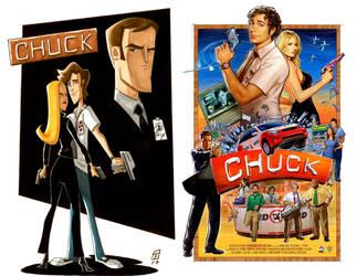 Cartoon chuck combo by retroreloads