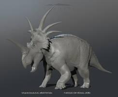 The Isle - Styracosaurus by FabrizioDeRossi