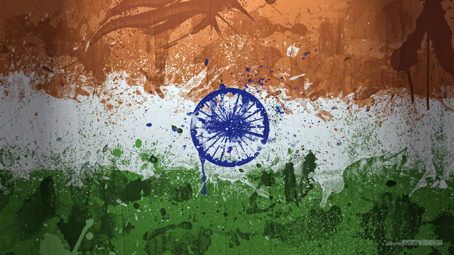 Indian Flag Wallpaper By Anonymouscreative On Deviantart