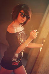 Cigarette In The Sun 01 by tatehemlock