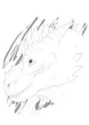 [Raffle] - 2017 Portrait Sketch 2# by TaimaTala