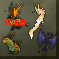 Creature Adopts 3# - (3/4) -OPEN- by TaimaTala