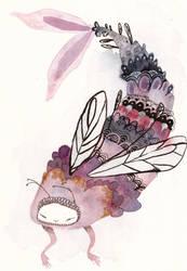 Waiting in the wings  by Ohrinjii