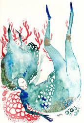 Lethargic Tides by Ohrinjii
