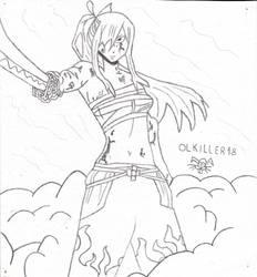 Erza Scarlett Fairy Tail by OLkiller18