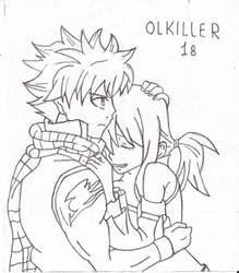 Natsu et Lucy (Fairy Tail) by OLkiller18